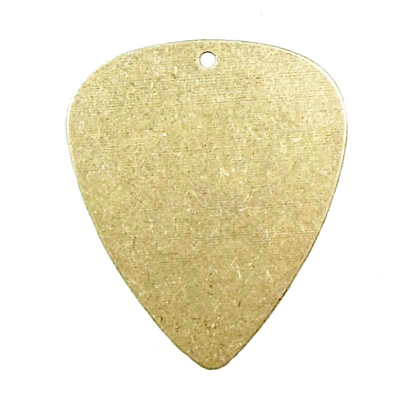 Guitar pick brass stampings brass blank brass ox made in the usa guitar pick brass stampings brass blank brass ox made in the usa aloadofball Image collections